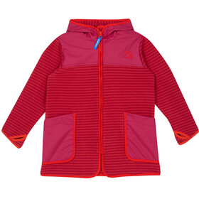 Finkid Kids Kodikas Fleece Jacket cranberry/grenadine